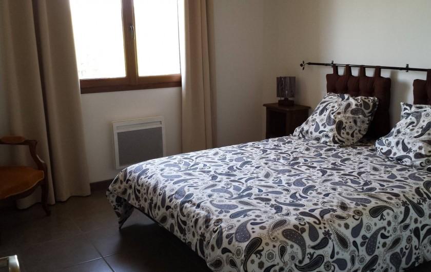 Location de vacances - Gîte à Armissan - Chambre lit en 160 gîte 1