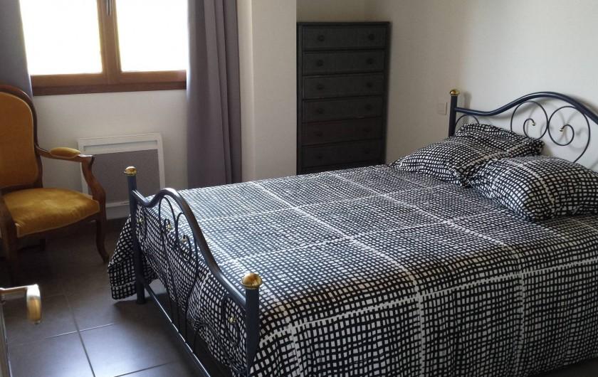 Location de vacances - Gîte à Armissan - Chambre lit en 140 gîte 1
