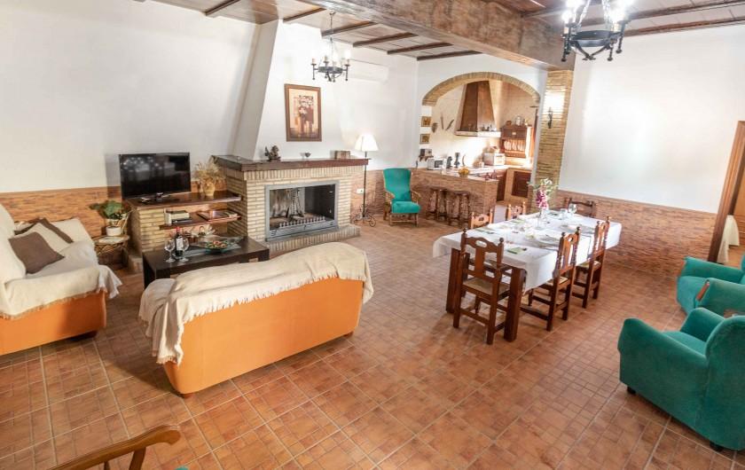 Location de vacances - Villa à Séville - Chambre 2 lits