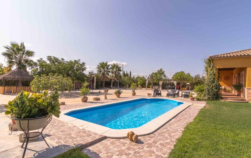 Location de vacances - Villa à Séville - Pergola