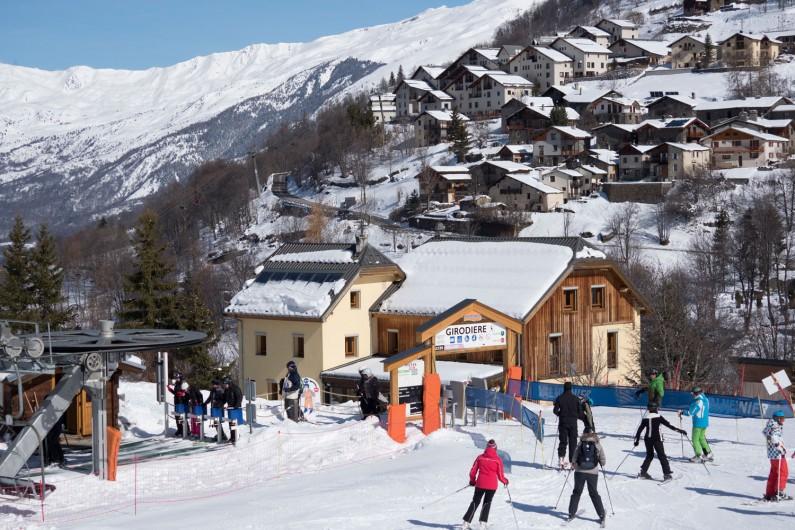 Location de vacances - Chalet à Valmeinier - Accès direct télésiège