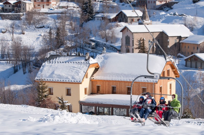 Location de vacances - Chalet à Valmeinier - Au pied des pistes