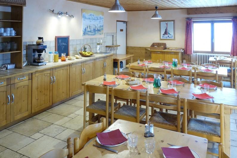 Location de vacances - Chalet à Valmeinier - Salle à manger montagnarde