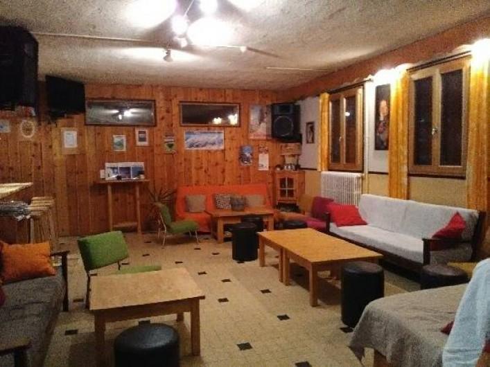 Location de vacances - Gîte à Le Monêtier-les-Bains - salon