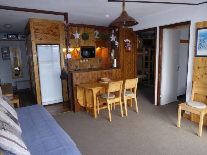 Location de vacances - Appartement à Orcières Merlette - Séjour