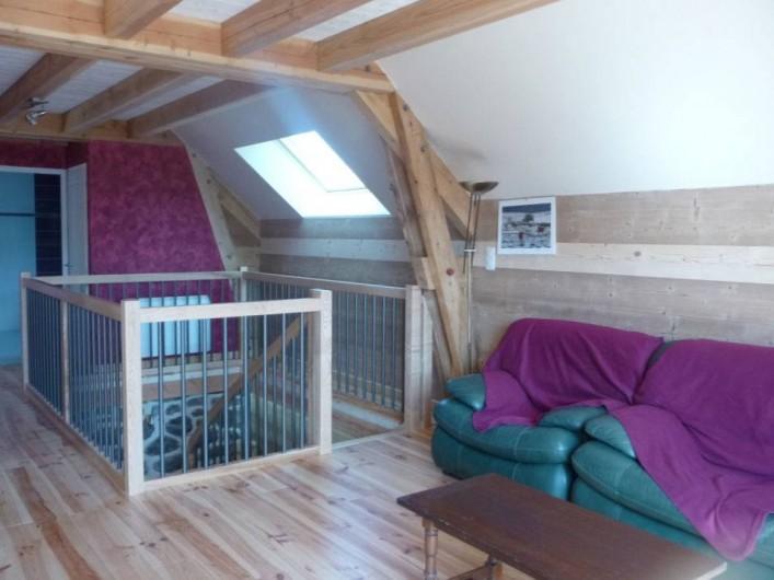Location de vacances - Gîte à Marchastel - 1er étage : espace détente