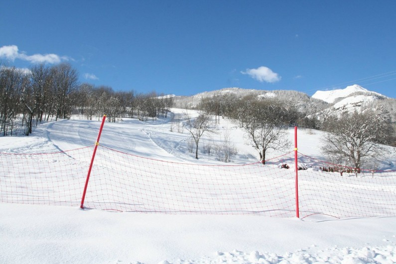 Location de vacances - Chalet à Puy-Saint-Vincent - La piste à 200 m