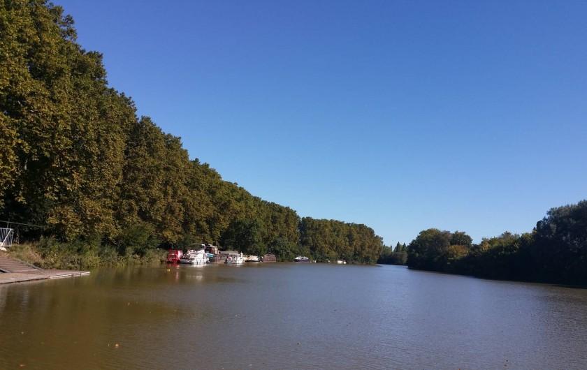 Location de vacances - Maison - Villa à Agde - ballade sur le canal