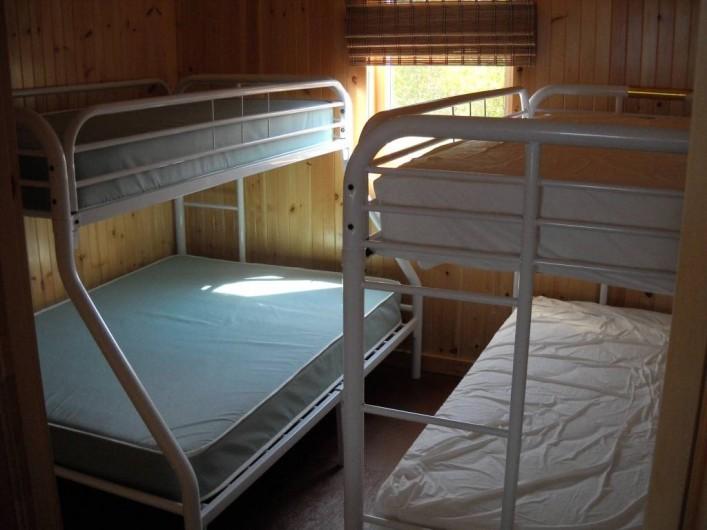 Location de vacances - Chalet à Gracefield - Chambre tipique