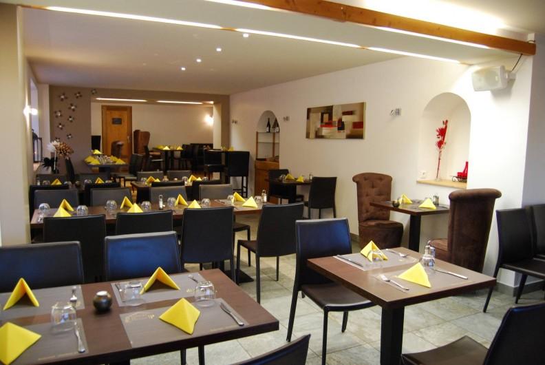 Location de vacances - Chambre d'hôtes à Chanaz - La salle de restaurent