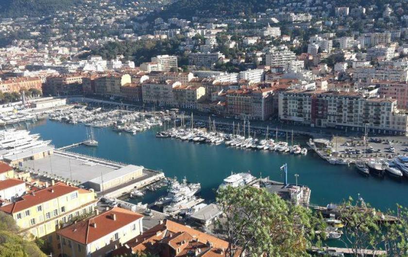 Location de vacances - Appartement à Nice - Le port de Nice