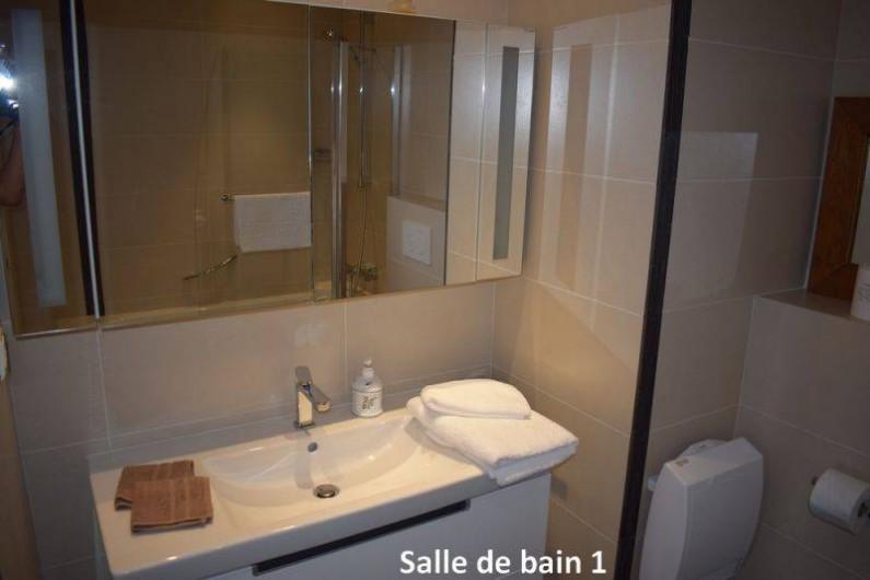 Location de vacances - Appartement à Nice - La salle de bain n°1