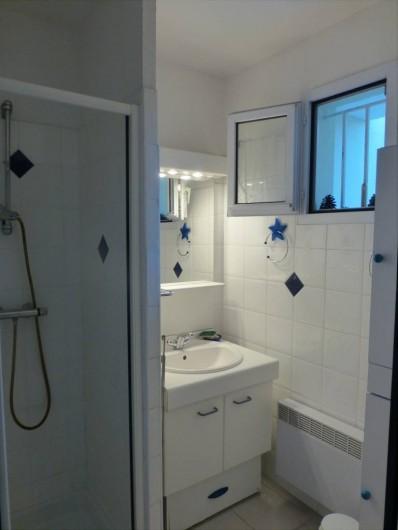 Location de vacances - Appartement à Argelès-sur-Mer - salle d'eau
