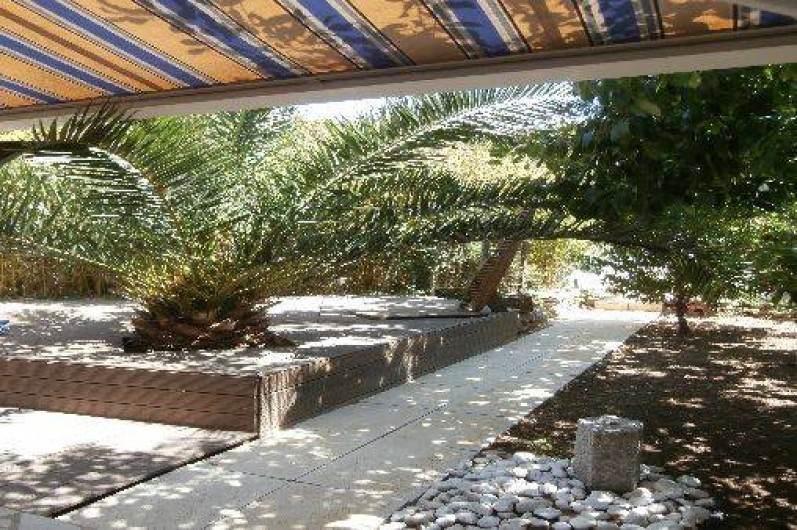 Location de vacances - Villa à Sète - jardin