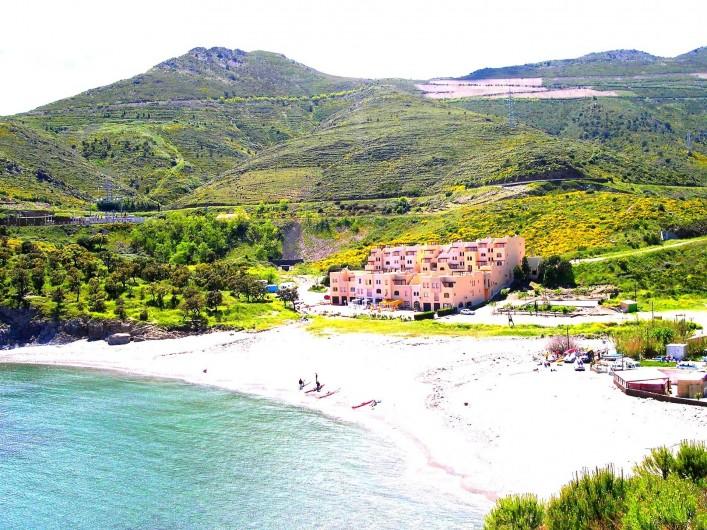 Location de vacances - Appartement à Cerbère - la résidence