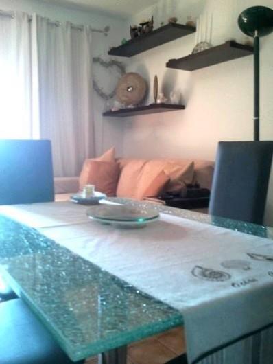 Location de vacances - Appartement à Cerbère - le séjour