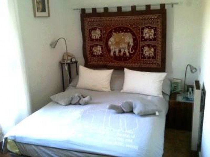 Location de vacances - Appartement à Cerbère - la chambre