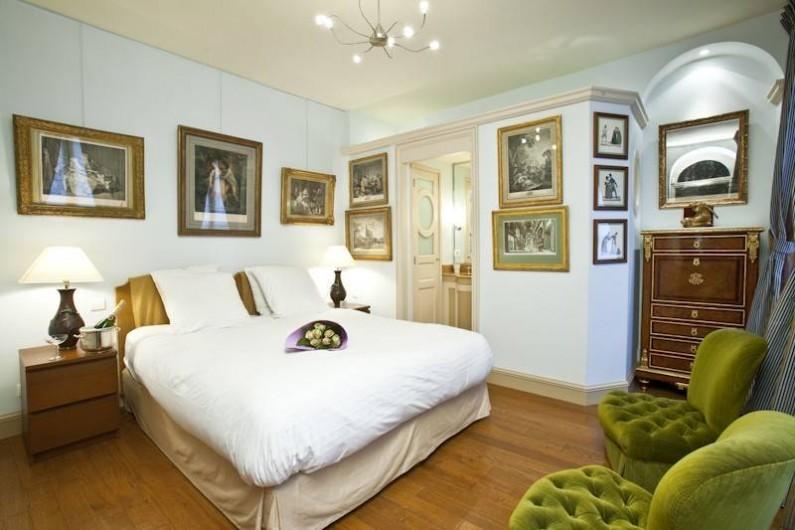 Location de vacances - Appartement à Champs-Élysées - Chambre Marie-Antoinette