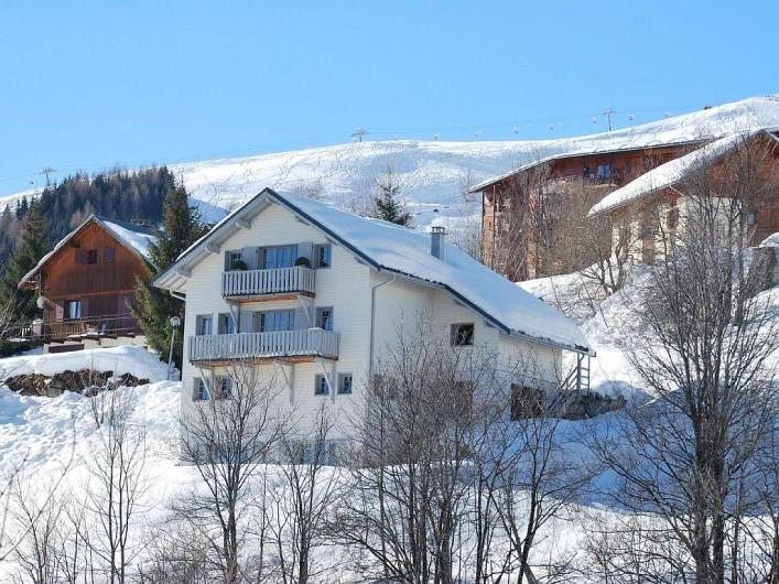 Location de vacances - Chalet à Le Corbier
