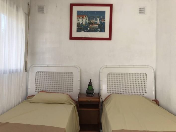 Location de vacances - Maison - Villa à San Andrés Golf - La cinquieme chambre a lit avec acces par le jardin