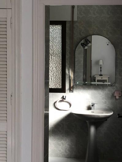 Location de vacances - Maison - Villa à San Andrés Golf - La salle de bain avec douche ensuite a la deuxieme chambre a lit