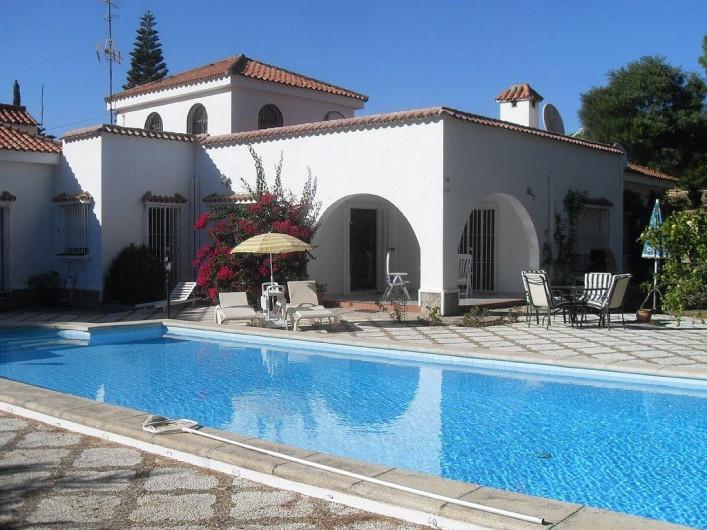 Location de vacances - Maison - Villa à San Andrés Golf - la piscine: 11mx5m