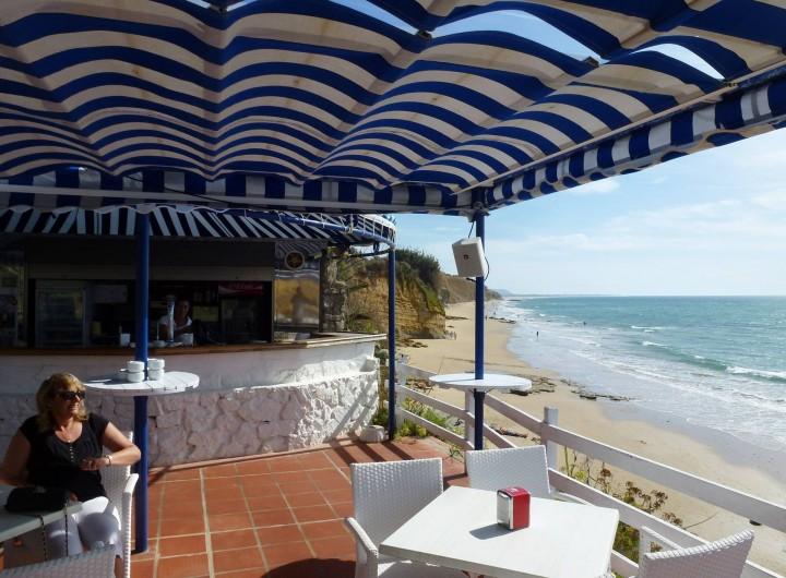 "Location de vacances - Maison - Villa à San Andrés Golf - Un ""chiringuito"" permanente donnant sur la plage a Fuente del Gallo"