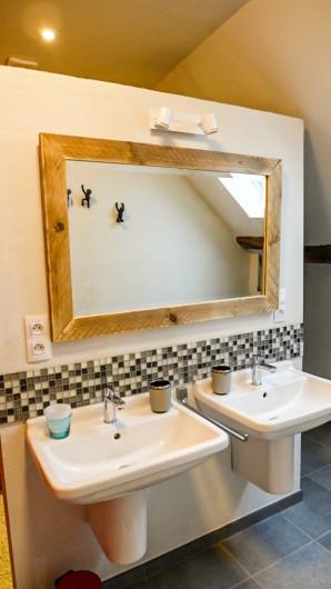 Location de vacances - Gîte à Malempré - Salle de bain grenier 2