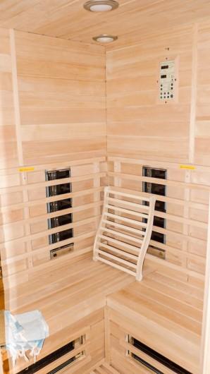 Location de vacances - Gîte à Malempré - Sauna infrarouge