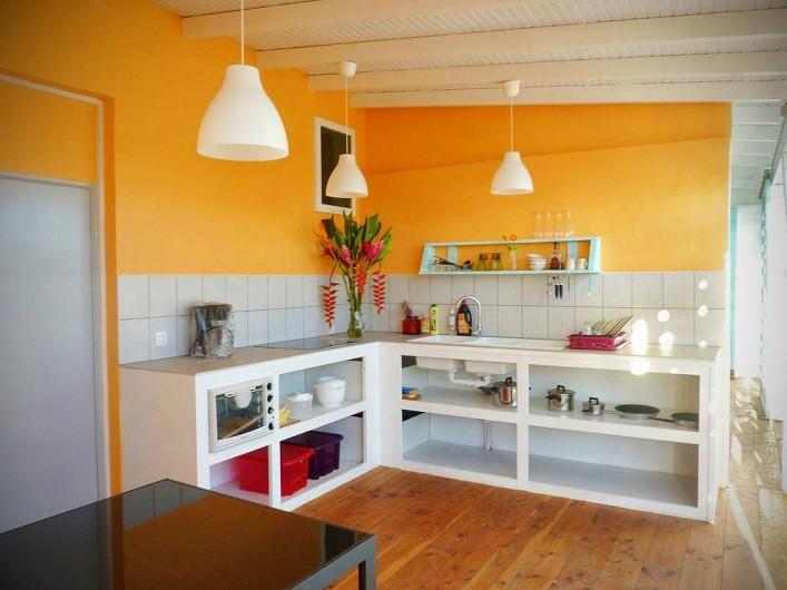 Location de vacances - Gîte à Saint-François - Gîtes la simoniere : studio