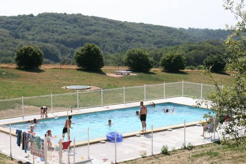 Location de vacances - Gîte à Lacam-d'Ourcet - La piscine chauffée