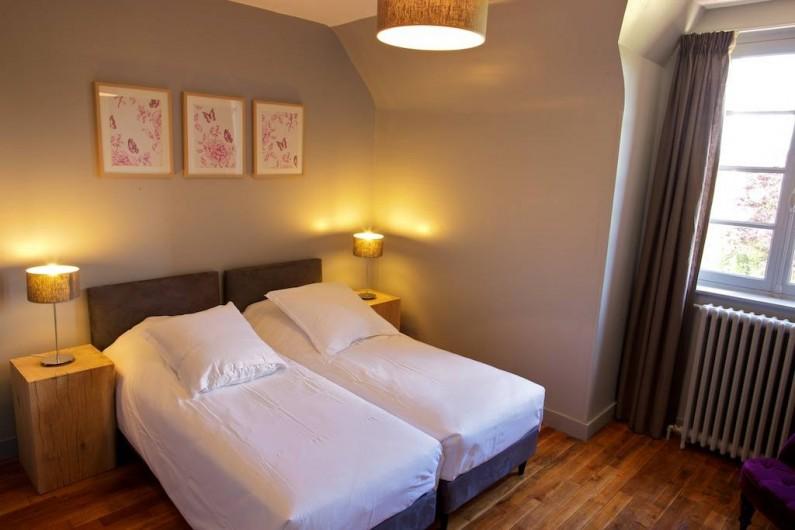 Location de vacances - Gîte à Chambord - Gîte Cerf - chambre avec lits jumeaux