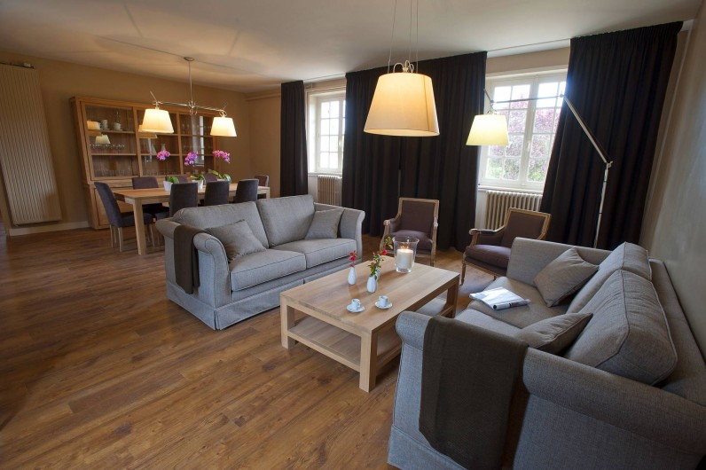 Location de vacances - Gîte à Chambord - Gîte Cerf - espace salon + salle à manger