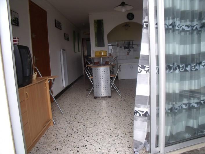 Location de vacances - Appartement à Le Grau d'Agde - coin salon