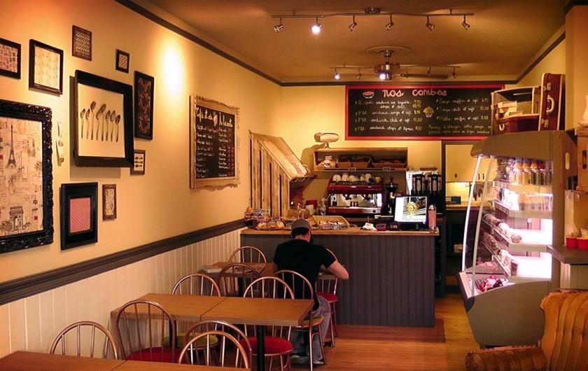 Location de vacances - Hôtel - Auberge à Ville de Québec - Notre restaurant à côté pour le petit-déjeuner et des snacks
