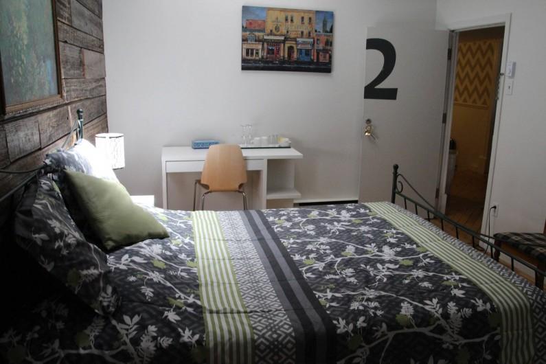 Location de vacances - Hôtel - Auberge à Ville de Québec - Chambres avec lits Queen ou doubles ...
