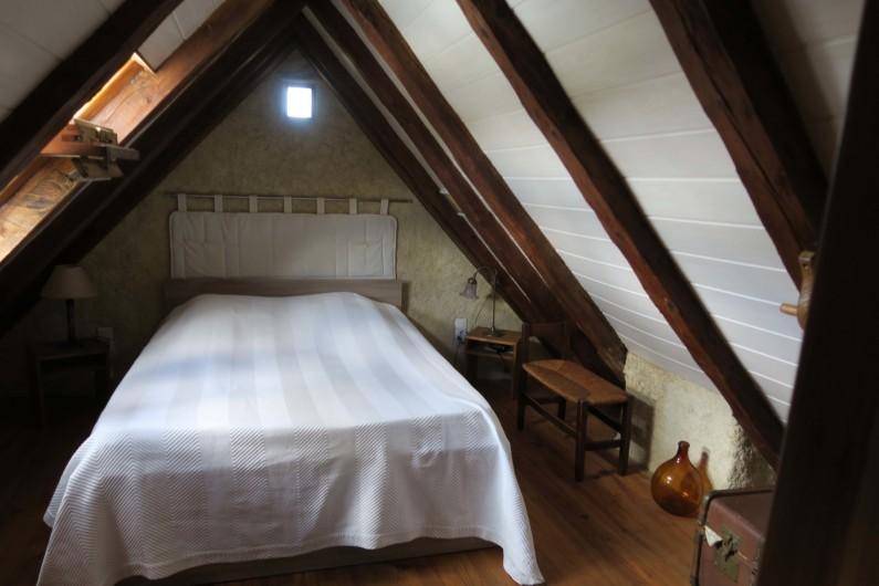 Location de vacances - Gîte à Marvejols - chambre sous pente