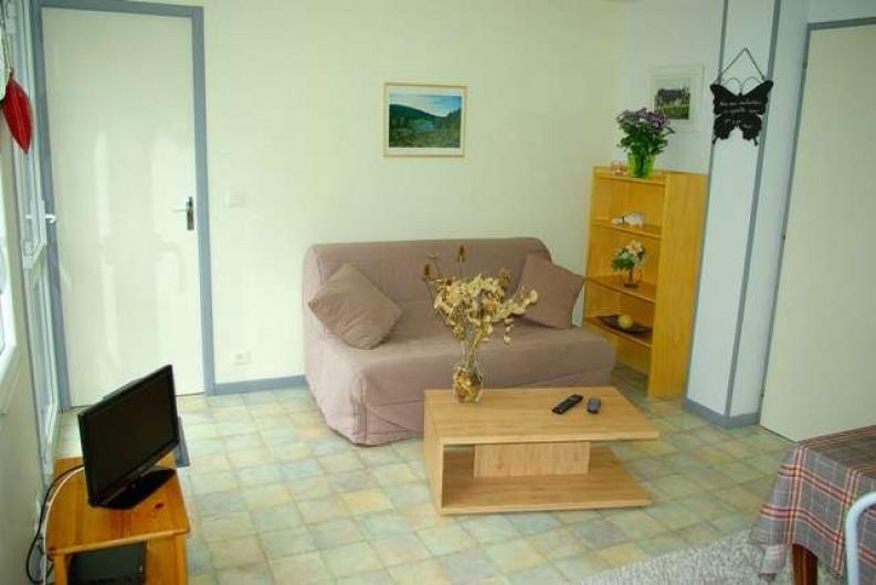 Location de vacances - Appartement à La Bresse - coin salon