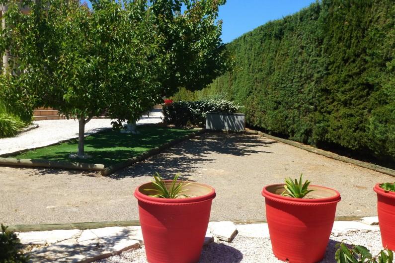 Location de vacances - Villa à La Palme - le terrain de boules
