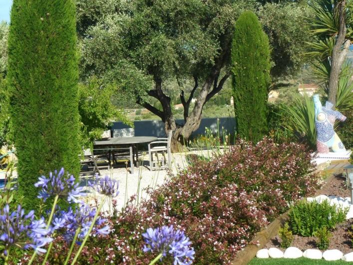 Location de vacances - Villa à La Palme - à l'ombre d'un vieil olivier