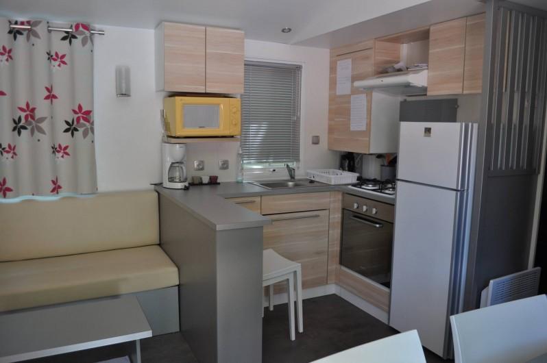 Location de vacances - Camping à Argelès-sur-Mer - cuisine