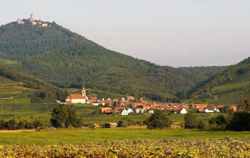 Location de vacances - Gîte à Orschwiller - Cour intérieure