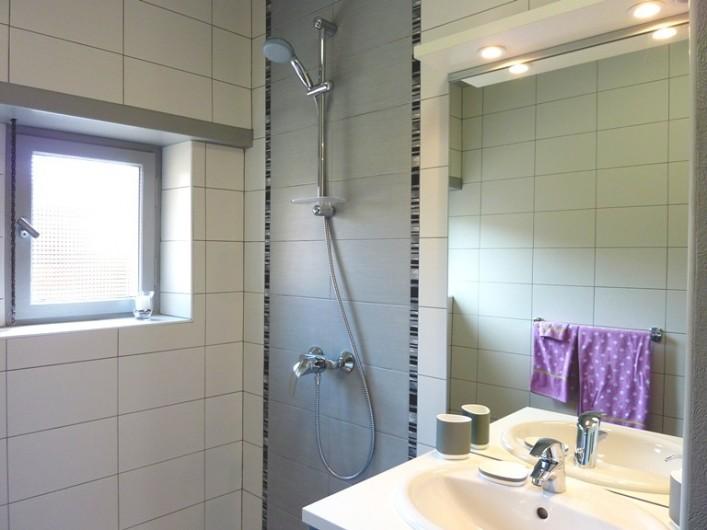 """Location de vacances - Gîte à Orschwiller - """"Clémence"""" Douche et WC séparé"""