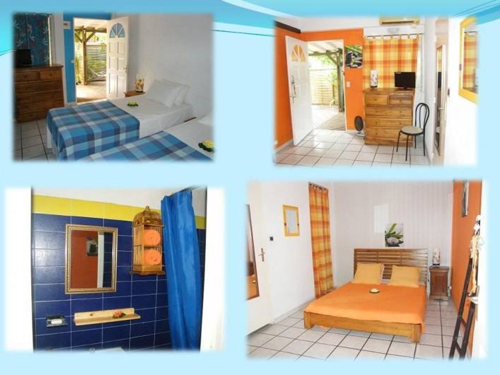 Location de vacances - Appartement à Saint-Gilles les Bains - Intérieurs des locations