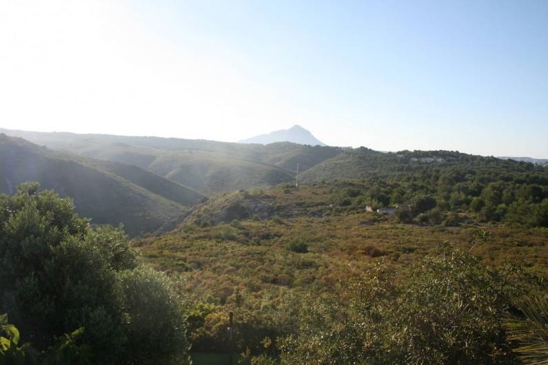 Location de vacances - Villa à Xàbia - Jolie Vue de la terrasse.