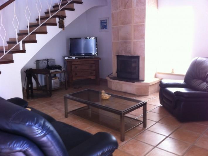 Location de vacances - Villa à Xàbia - Salon