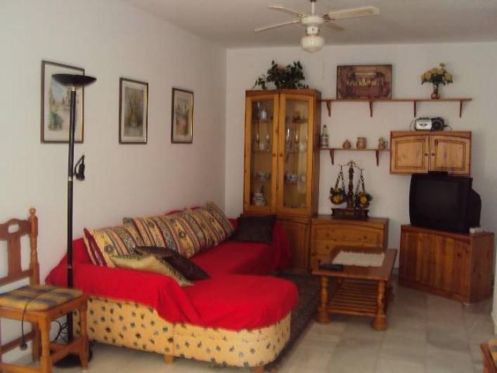 Location de vacances - Appartement à Torrox Costa - SALON