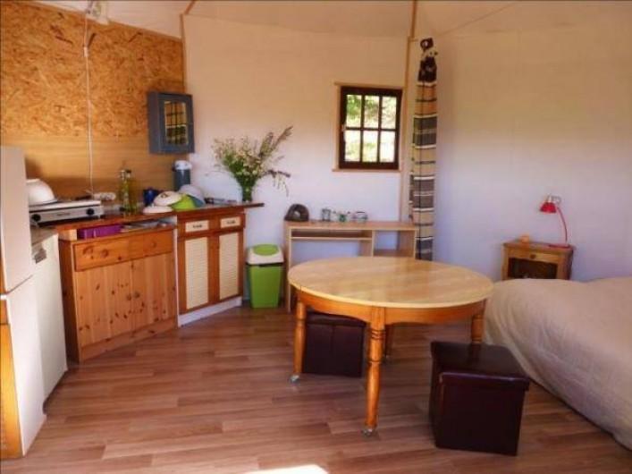 Location de vacances - Camping à Éourres - La Bunga-Yourte