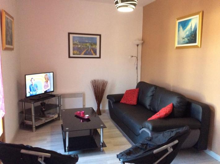 Location de vacances - Appartement à Amélie-les-Bains-Palalda - salon