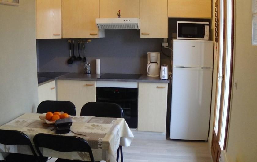 Location de vacances - Appartement à Amélie-les-Bains-Palalda - cuisine